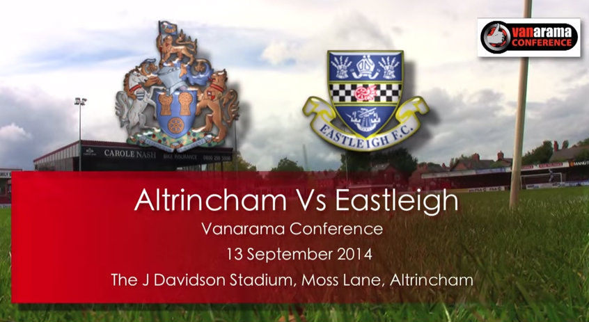 Watch highlights from Altrincham's thrilling 3-3 draw against Eastleigh FC