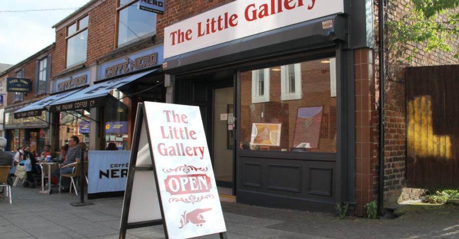 "Altrincham art gallery to close as artist brings down curtain on five-month ""experience"""