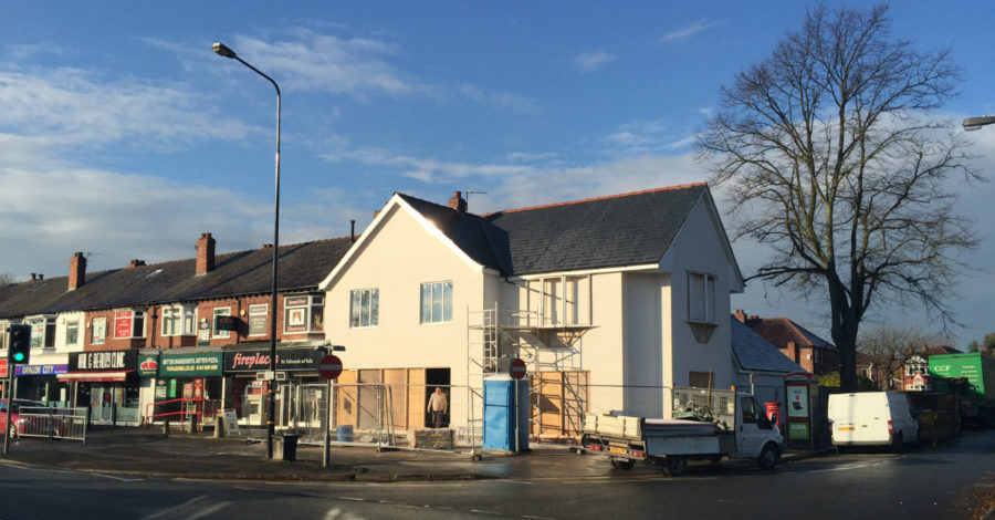New Tesco Express on Washway Road to open by Christmas