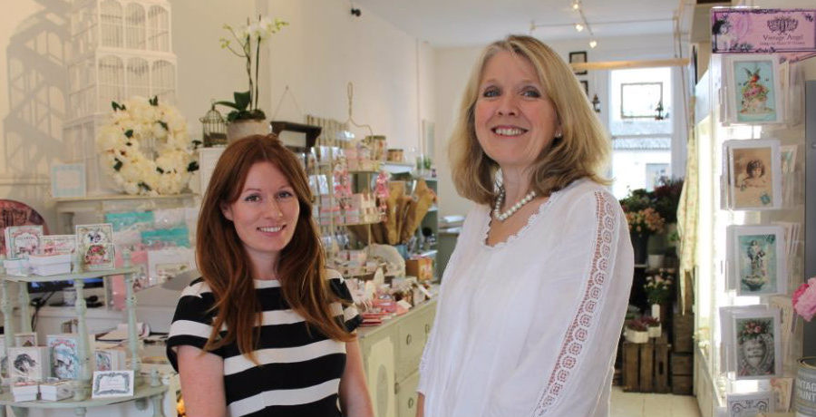 Two into one really does go for Stamford House shop owners
