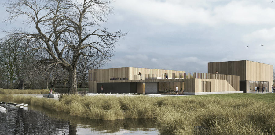 New £4.5m development will include 16 houses, a community centre and a new home for Trafford Rowing Club