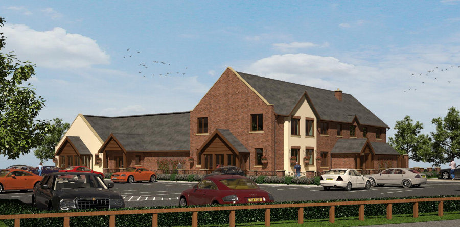 New Farmhouse Inn restaurant, 120-space nursery and community centre is finally set to be built in Broadheath