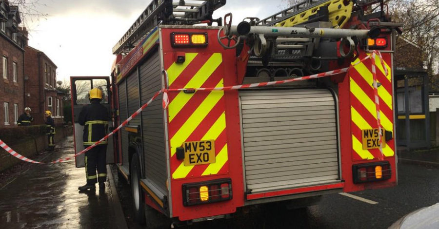 Smoke alarm saves 94-year-old woman in Timperley flat fire