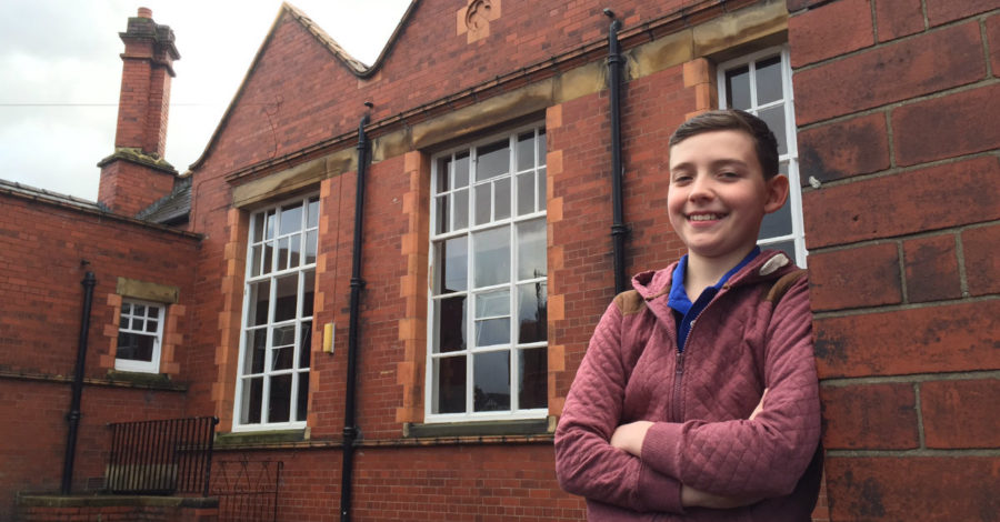 That Day I made Victoria Wood laugh… 12-year-old recounts his role in Altrincham-based Christmas TV hit
