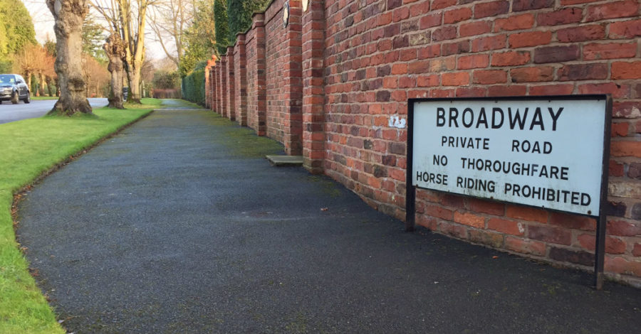 Revealed: The 50 highest value roads in Altrincham