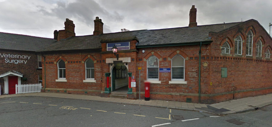 Plans submitted to convert Hale Station waiting room into 28-seater café