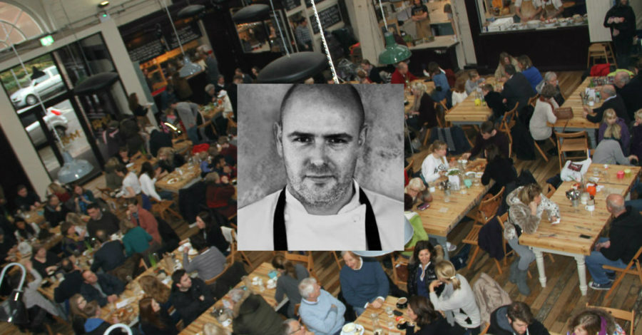 """Market House meets Manchester House: Top chef Aiden Byrne teams up with traders for festival """"celebration"""""""
