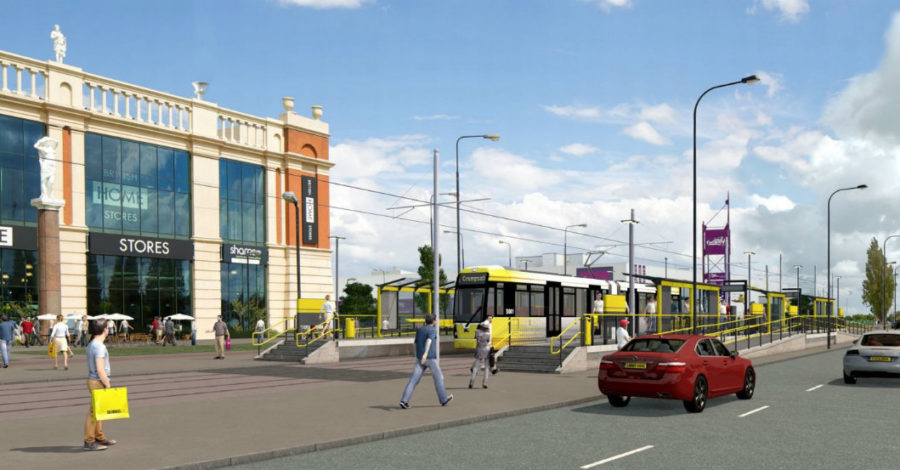 A tram from Altrincham to the Trafford Centre? It's a step closer – but could take an hour