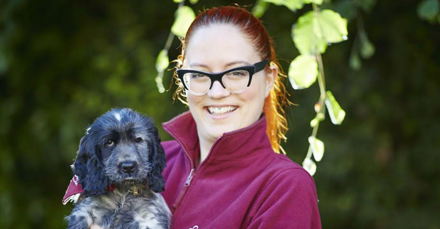 Hale volunteers take in hearing dog puppy as charity launches training scheme