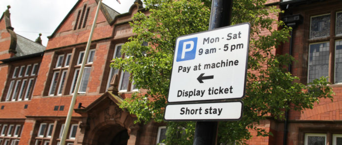Parking will be free after 3pm in Altrincham this winter