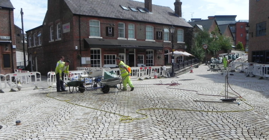 "Goose Green work ""close to completion"" as progress continues on town centre transformation"
