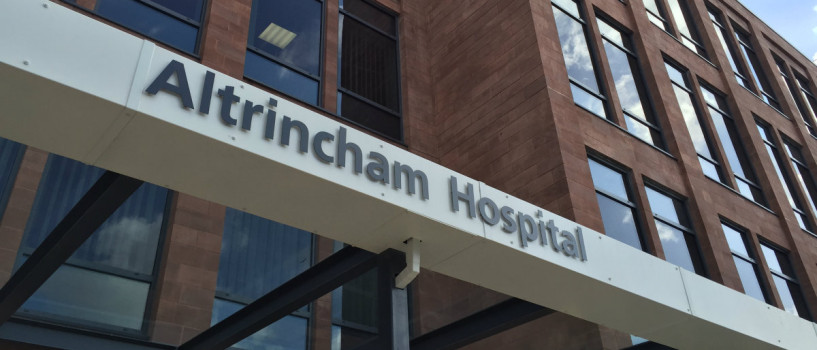 Royal opening for Altrincham's new £17m community hospital