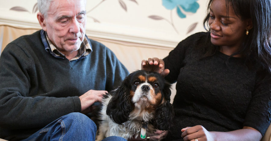 Meet Millie, Nugget and Dipper… some of the pets making a difference at a Timperley care home