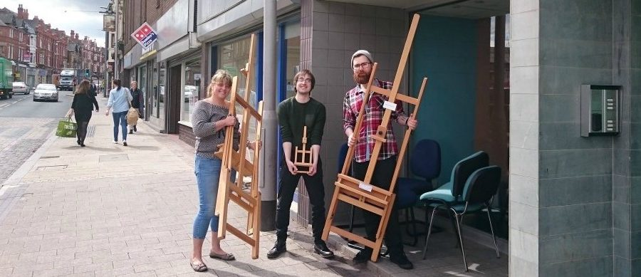 Award-winning Art With a Heart finds a permanent home with move to new Altrincham base