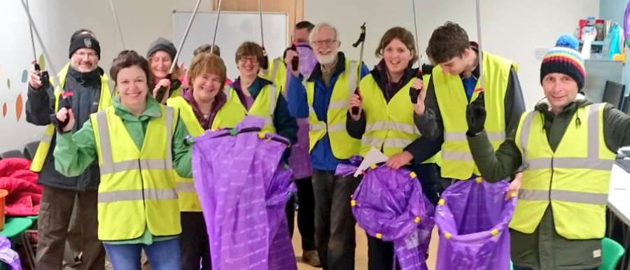Volunteers sought for Altrincham litter pick on Sunday