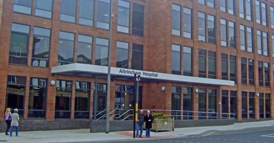 Some outpatient services transferred out of Altrincham Hospital due to coronavirus crisis