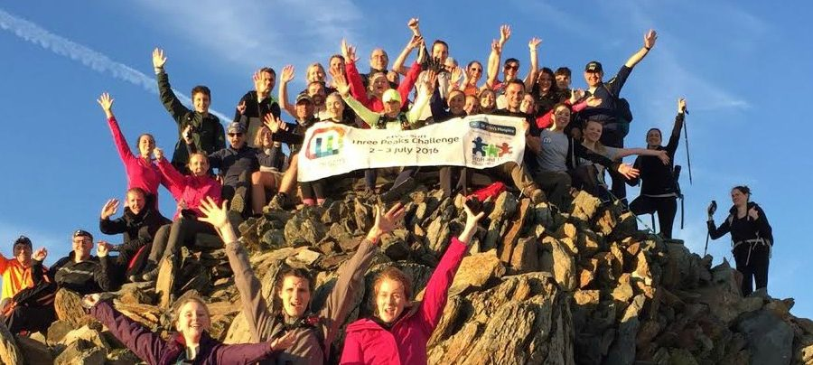 Altrincham firm scales the Three Peaks and raises £14,500