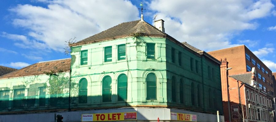 At long last – the refurbishment of the former McDonald's building has STARTED