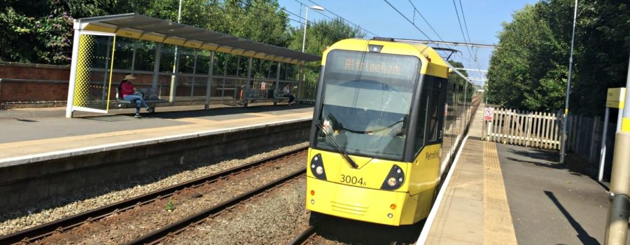 New trams create space for extra 400 passengers during peak hours on Altrincham line