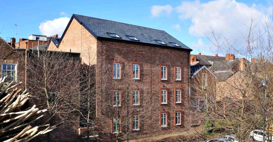 Former Goose Green garage transformed into 13 high-spec apartments