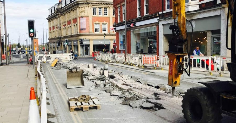 Stamford New Road will reopen NEXT WEEK, Trafford Council tells businesses