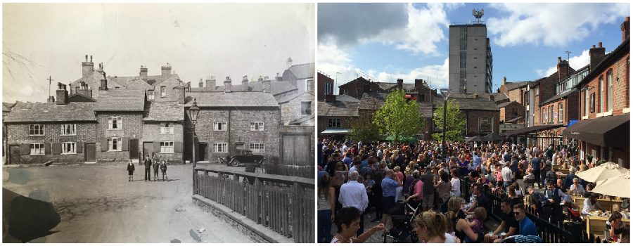 The story of Goose Green: How it transformed from workers' cottages to become Altrincham's unique jewel