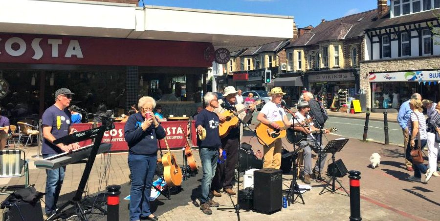 Loose Change Buskers hit £400,000 fundraising milestone