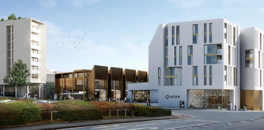 Exclusive: New images released showing how £70m Altair scheme will look