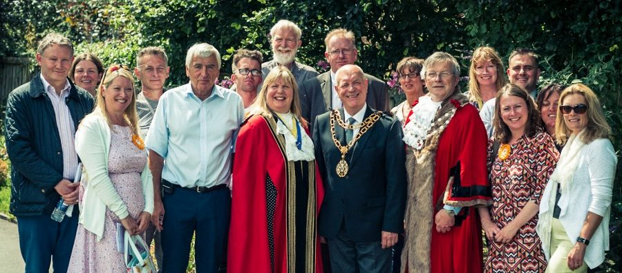 Judges visit Altrincham for North West in Bloom competition