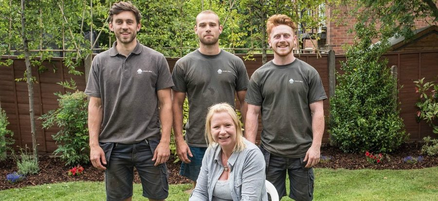 Bowdon MS sufferer has garden transformed after winning Hale company's competition