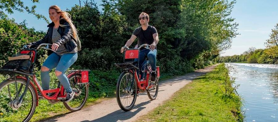 What's the most unusual bike ride around Altrincham? Bike & Go wants to know