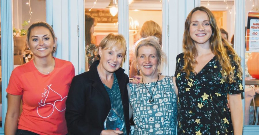 Coronation Street star helps Hale café's charity night for Prevent Breast Cancer