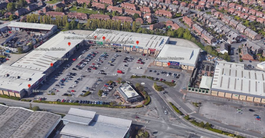 Altrincham Retail Park is no longer owned by the Queen as it's sold in £63m deal