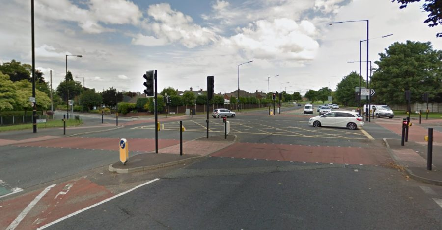 Motorcyclist suffers serious injuries in collision with car in Timperley