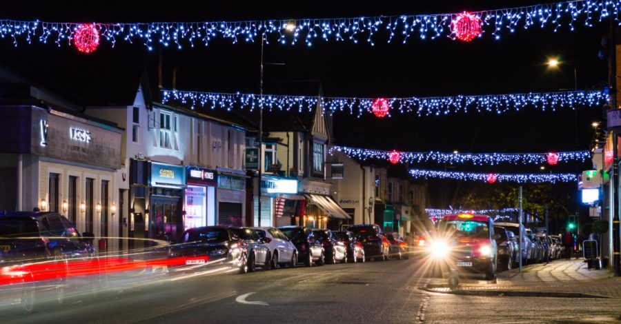 The Christmas lights are on in Hale – thanks to fundraising campaign from local businesses