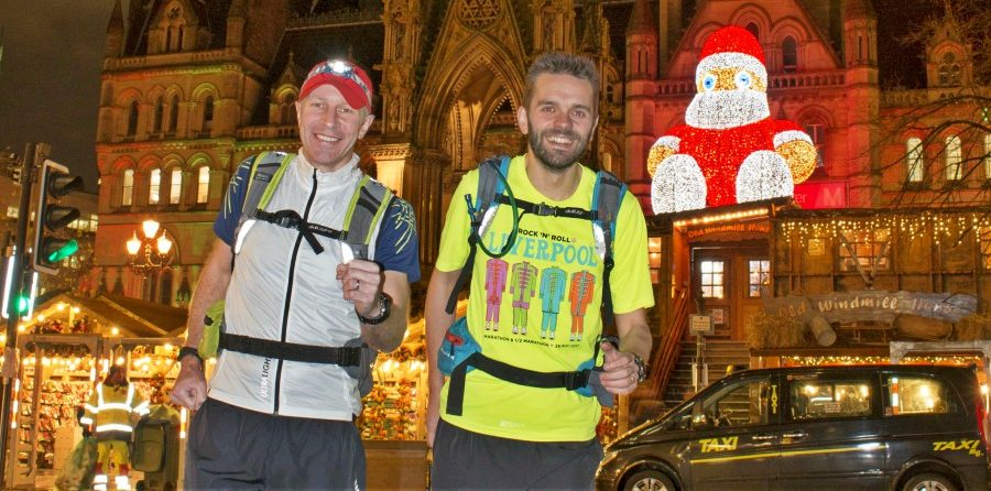 Timperley pair to run 100km on longest night of the year to highlight misery of homelessness