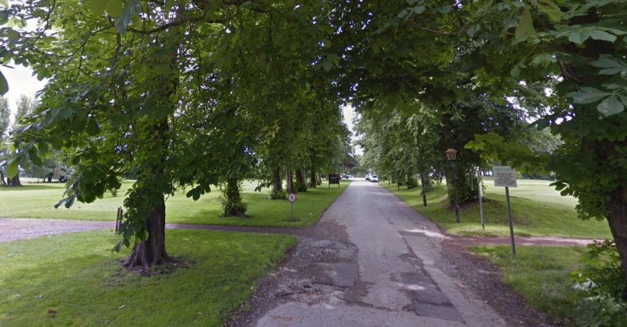 Police hunt after pensioner escapes axe-wielding robbers at Altrincham Golf Club