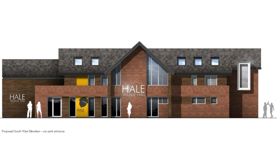 Plans submitted for 6,000 sq ft Hale Library and community centre – and you can have your say until January 25th