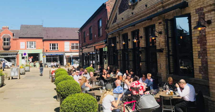 Temperatures set to soar in Altrincham next week with sunny spell to last into July