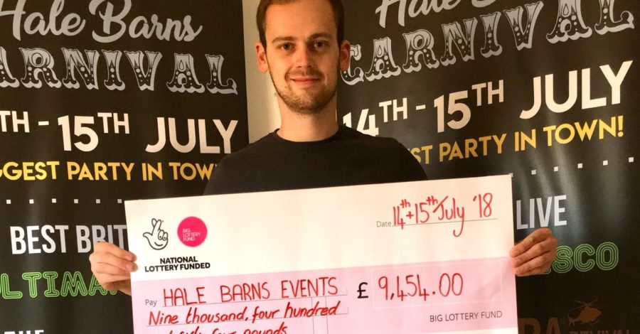 "Hale Barns Events wins £10k lottery funding to make July carnival ""bigger and better"""