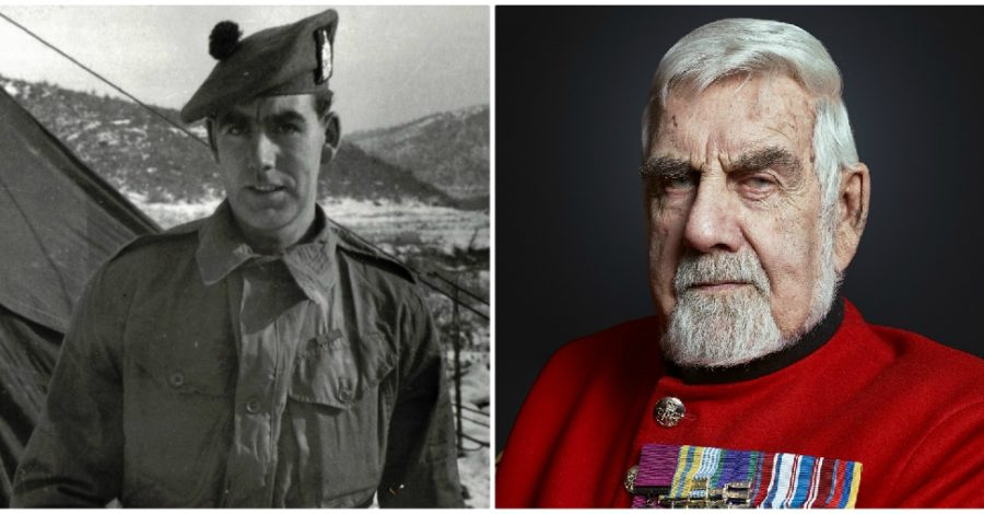 Bill Speakman, Altrincham's great war hero and the first person to receive a Victoria Cross from Queen Elizabeth, dies aged 90