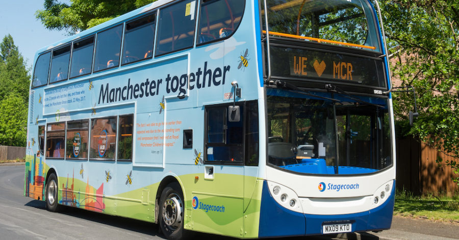 Stagecoach reveals £56m plan to bring more than 100 zero emission electric buses to Greater Manchester