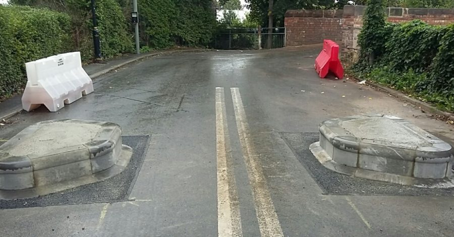 Seamons Road bridge reopens – and no heavy goods vehicle shall pass
