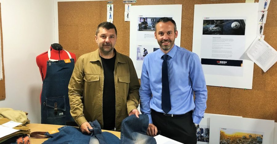 Dungarees supplier doubles size of Timperley base after six-figure investment