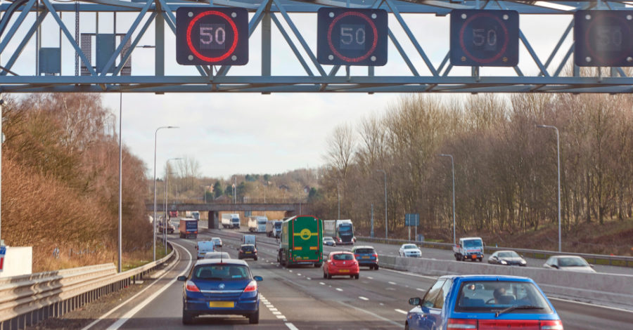 Four-mile stretch of M56 between Hale Barns and Bowdon to be turned into four-lane smart motorway