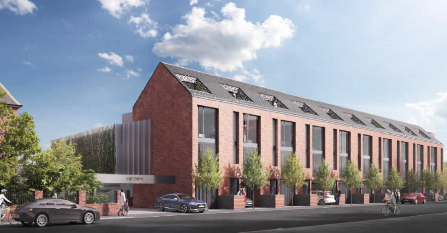 Work begins today on £6million scheme to transform Hale car park into 22 homes and a multi-storey car park