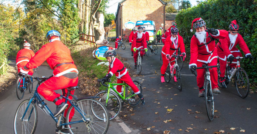 Popular charity Santa cycle ride returns this Sunday for fourth year running