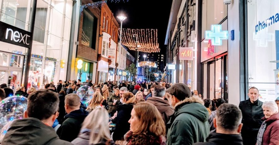 Christmas Lights Switch-On gives Altrincham its busiest day since footfall records began
