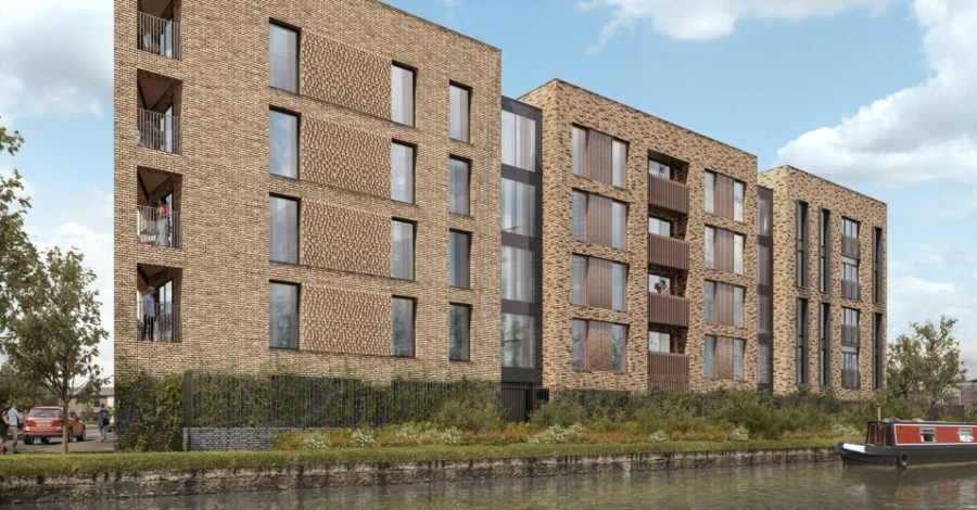 "Developers reveal first view of Bridgewater Canal apartment block after ""going back to drawing board"" on plans"