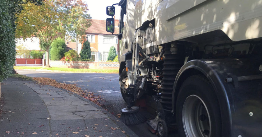 Residents warned they face £80 on-the-spot fines for pushing leaves from their property to the road